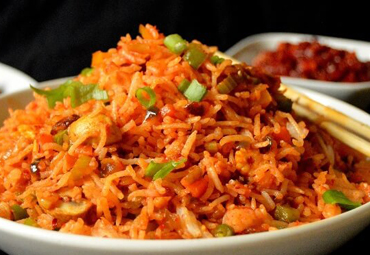 Schezvan Fried Rice