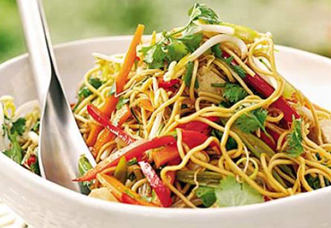 Onion Chilli Noodles